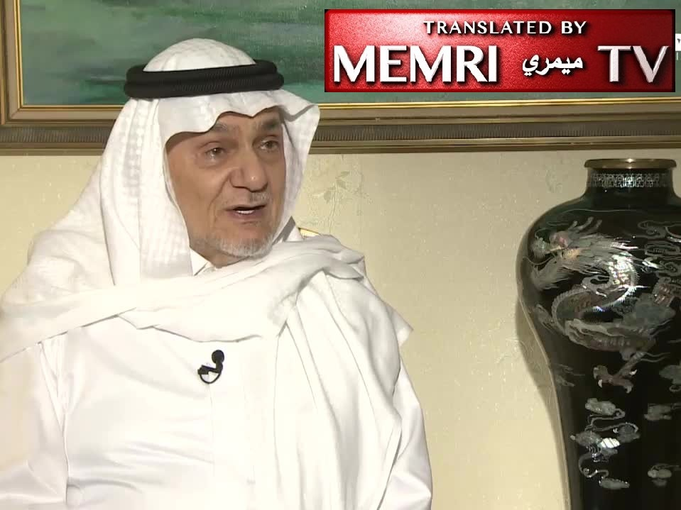 Fmr. Saudi Intelligence Chief Prince Turki Al-Faisal: Iran and Qatar Cooperated with Al-Qaeda, Particularly against KSA